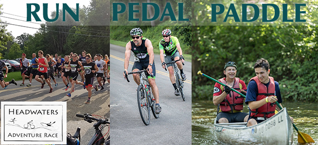 Run Pedal Paddle - Headwaters Adventure Race