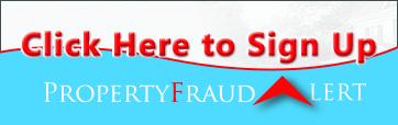 Property Fraud Alert Sign Up