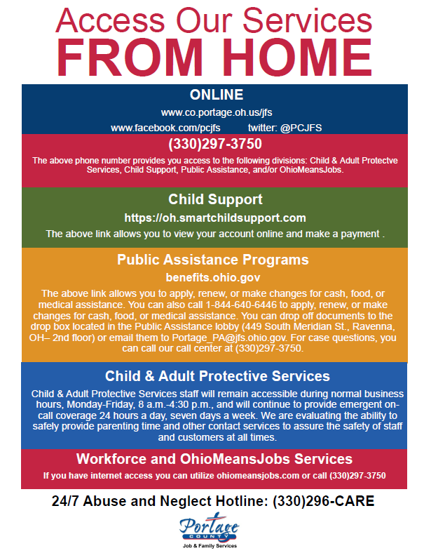 Access our Services From Home