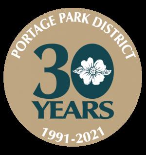 30th anniversary logo portage park district