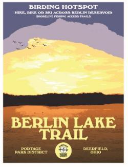 Berlin Lake Trail poster