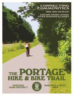 the PORTAGE hike and bike poster