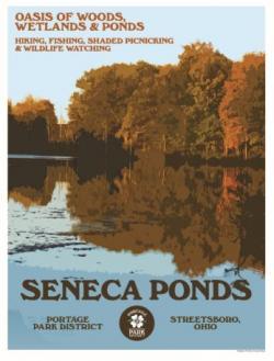 Seneca Ponds poster