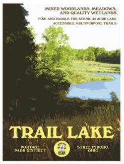 Trail Lake poster
