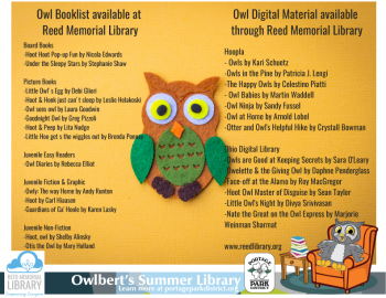 click to download the Reed Memorial Library list