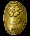 Wild Hikes medallion 2014