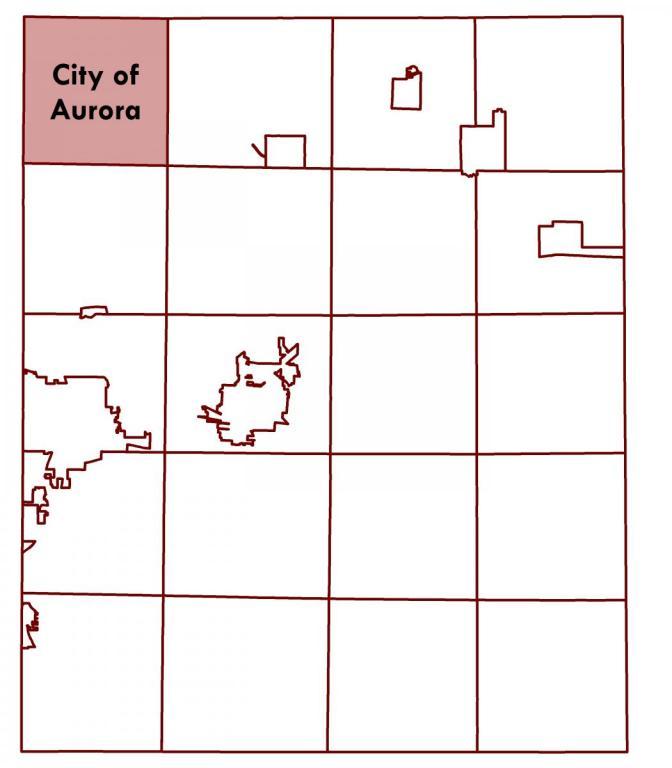 City of Aurora Location