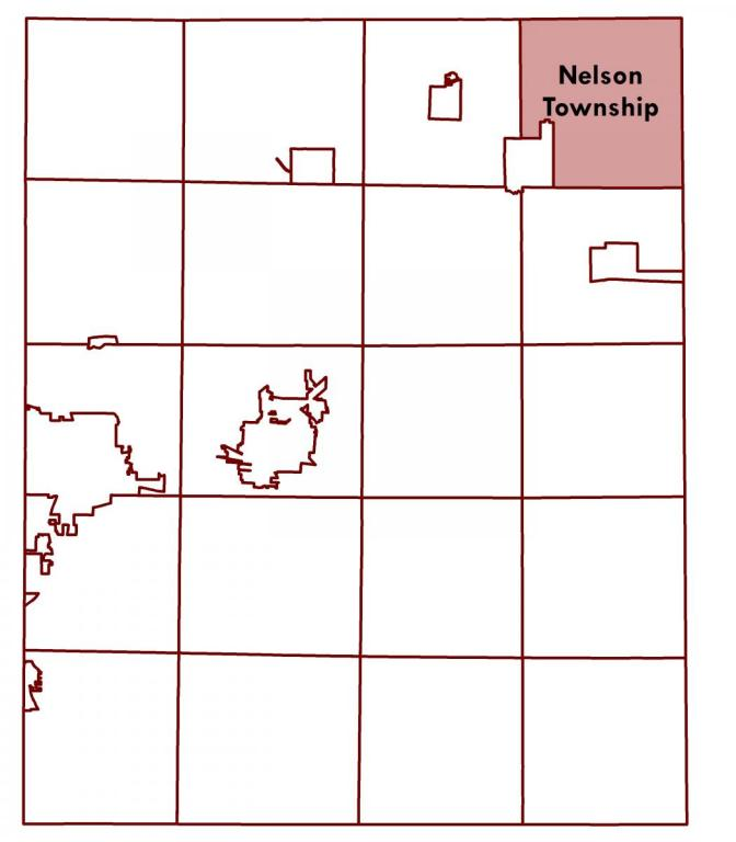 Nelson Township Location