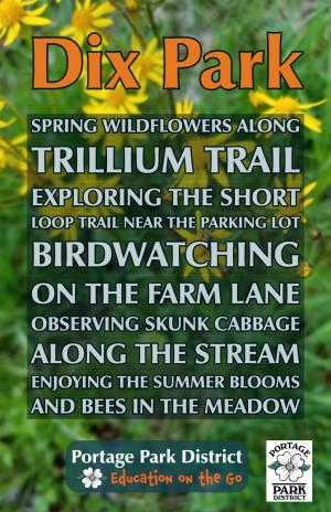 Dix Park trillium trail, farm lane, loop trail, spring wildflowers, meadow