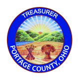 Seal of the Portage County Treasurer
