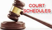 Court Schedules