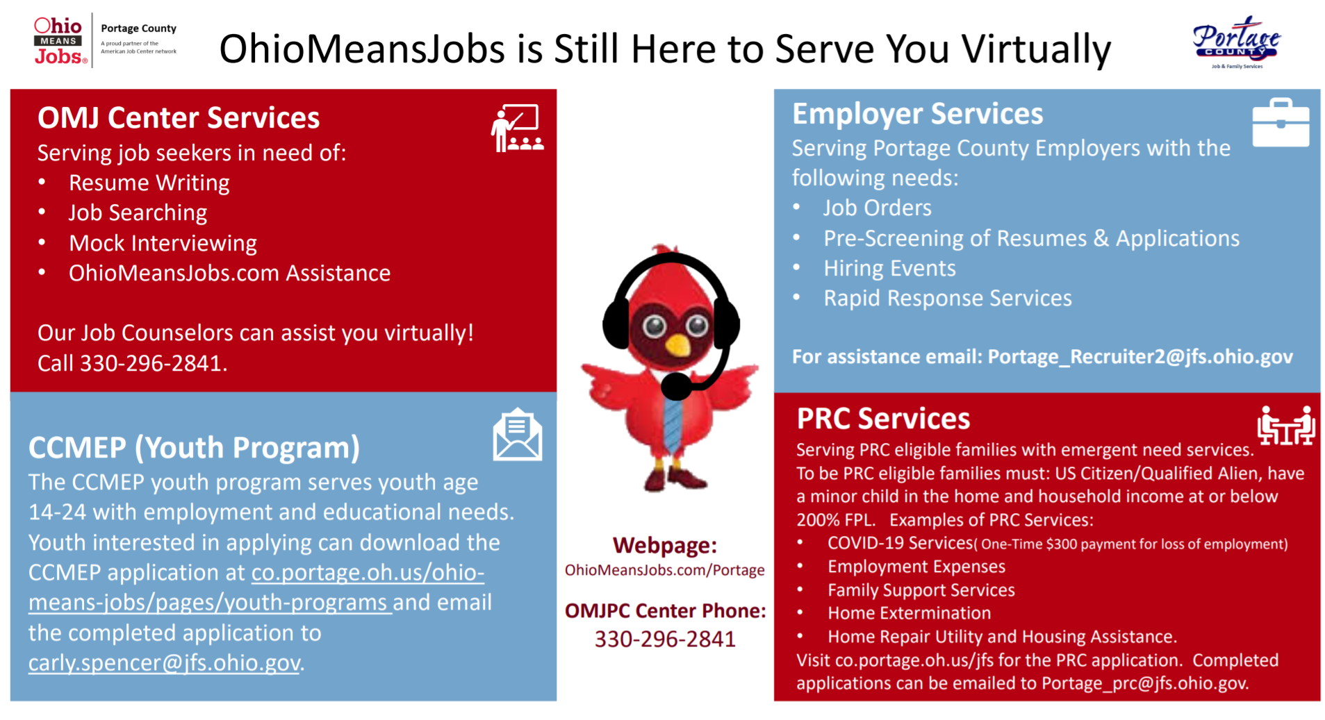 Virtual OMJ services